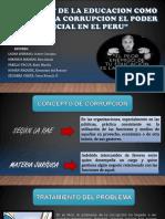 Deficit de La Educación en Tacna