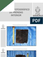 Registro Fotográfico 1 de las prendas que se hallaron en las  fosas de  Veracruz
