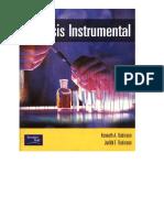 Analisis Instrumental-Rubinson, Rubinson - Prentice Hall-2001