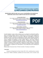 Dimensionamento de Wetlands Construídas Em Sistemas Individuais de Tratamento de Esgoto Sanitário
