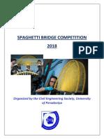 Spaghetti Competition 2018