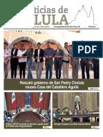 Noticias de Cholula del 24 de Septiembre del 2018