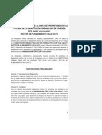 Reglamento - Junta de Propietarios Casa de Campo
