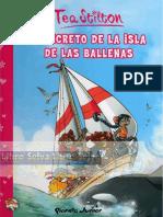 El Secreto de La Isla de Las Ballenas. Tia Stilton.