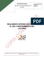 PO-SSMA-R-002 Reglamento Interno de Lactario