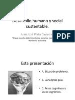 Desarrollo Humano y Social Sustentable