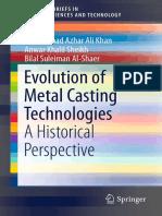Evolution of Metal Casting Technologies (2017)