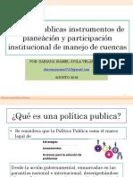 Política Publica en la gestión del agua Honduras