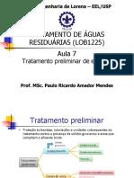 Aula 7 - Tratamento preliminar de esgotos.pdf