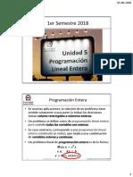 u5 Programación Lineal Entera IO
