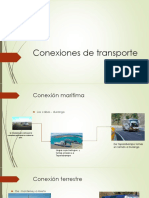 Conexion de Transporte y Mapa Conceptual
