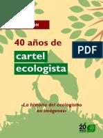 Exposición 40 años de carteles ecologistas