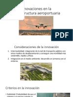 Innovaciones en El Transporte Aéreo