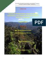 Análisis Del Estado de Conservación de Los Bosques y Páramos de Kañaris