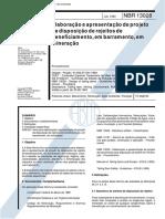 NBR 13028 - 1993 - Apresentação de Projeto de Disposição de Rejeitos de Beneficiamento.pdf