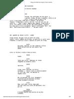 Being John Malkovich Script by Charlie Kaufman