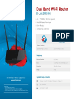 D Link DIR 816 Device Specifications