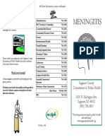 Saginaw County Health Department meningitis