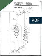 PK42502 Lifting Cylinder Boom