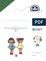 El Blog de Dmc_ Patrón de Ganchillo Gratis_ La Muñeca Chloe de La Crocheteria