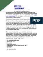 INSTRUMENTOS METEOROLOGICO1