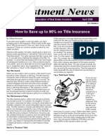 Newsletter April 2008