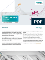 Siemens Company Presentation