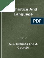 [Advances in Semiotics] Algirdas Julien Greimas,  Joseph Courtes - Semiotics and Language