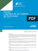 Diplomado Logistica en La Cadena de Suministro