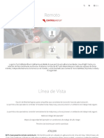 RCT Control Remoto