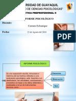 Exp Informe Psicologico