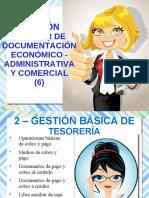 UF3 Gestión auxiliar de documentación económico - administrativa y comercial