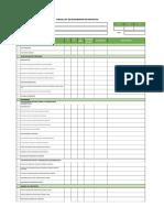 Checklist Proyectos