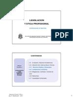 LE15 -Perfil y Honorarios Profesionales