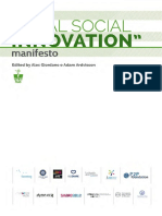The Manifesto of the Rural Social Innovation (Edited by Alex Giordano and Adam Arvidsson)