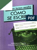 Como Se Escribe - Maria Teresa Serafini.pdf