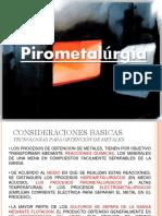 Clase Pirometalurgia Cobre Clase