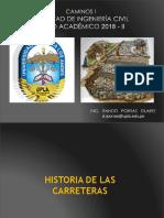 Caminos i 2018 - II (03 Dg Curvas Horizontales)
