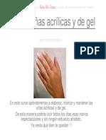 CURSO DE UÑAS ACRILICAS