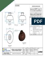 I-LP0601 Aisladores Tipo Pin de Porcelana Ansi 55