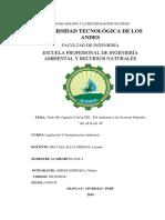 """Título III- Capítulo II de La CPE """"Del Ambiente y Los Recursos Naturales"""
