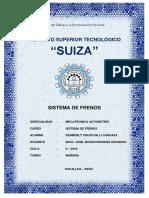 Sistema de Frenos Suiza