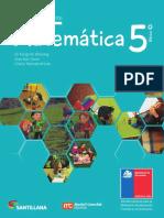 Matemática 5º Básico - Texto Del Estudiante