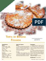 Torta Banana Folhada