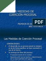 3. Las Medidas de Coerción Procesal en El CPP 04