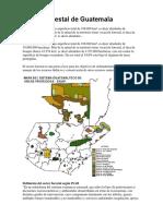 Sector Forestal de Guatemala