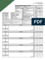 Formato Observacion Clase 2015