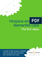 Hospice enabled dementia care