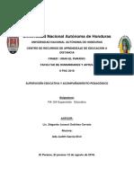 Supervisión educativa en Honduras ensayo.docx
