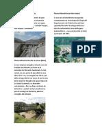 Plantas Hidroeléctricas de Guatemala